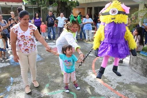 93 CALE CELEBRA EL DIA DE LA NIÑEZ Y LA ADOLESCENCIA
