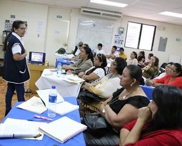 76 CRIOR DESARROLLA TALLER DE SENSIBILIZACION SOBRE INCLUSION SOCIAL DE PCD
