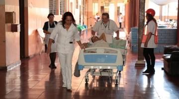 111 CAA REALIZA SIMULACRO DE EVACUACION