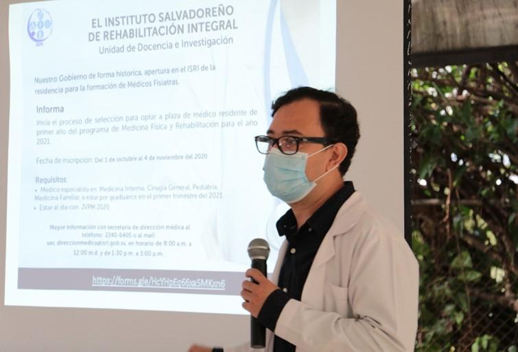 LANZAMIENTO CONVOCATORIA PARA RESIDENCIA DE MEDICINA FISICA Y REHABILITACION1